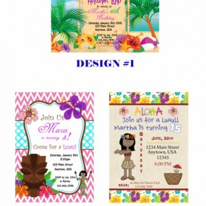 Luau Invitation, Birthday, Invitations, Luau
