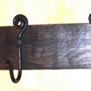 Barrel Stave Hook Rack