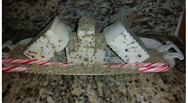 Organic Peppermint & Eucalyptus Hemp Soap