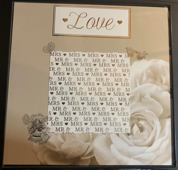 12x12 Wedding Frame