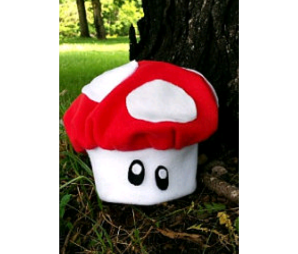 Mushroom hat for baby or kids