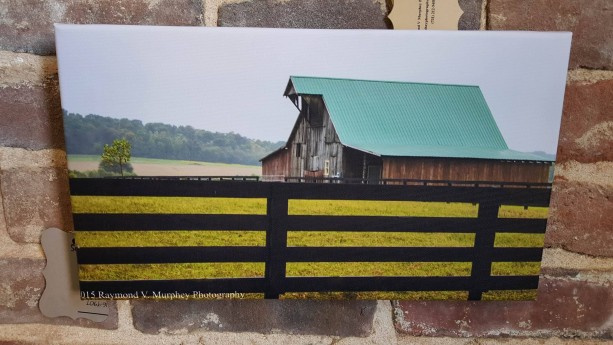 """14 x 8 Canvas """"Ameican Tradition"""""""