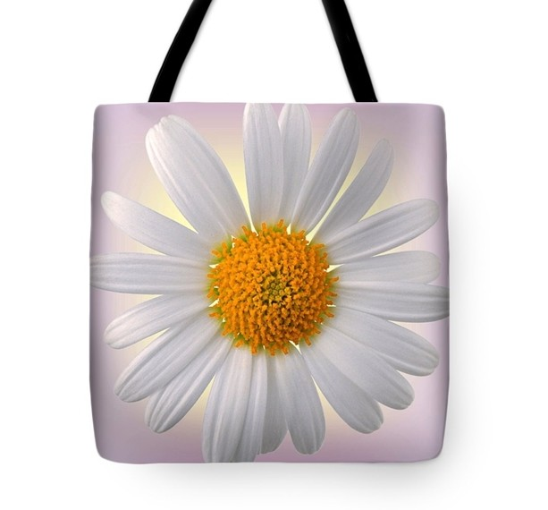 Solitary Glorious Chamomile Tote Bag