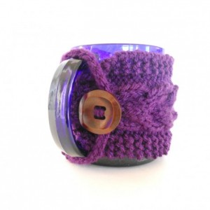 Coffee Mug Cozy - Knit Cabled Cozy - Stocking Stuffer - Teacher Present - Coffee Mug Sweater - Coffee Lover Gift - Tea Mug Cozy