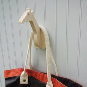 Wall hooks - Giraffe animal wall hook
