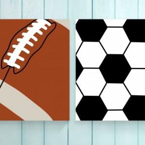 Soccer Ball Print