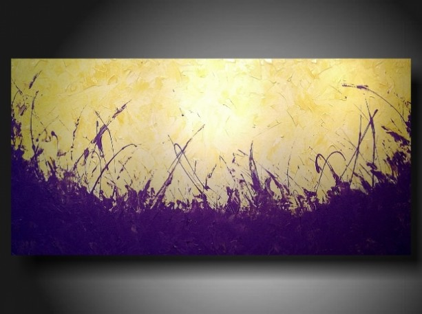 art original abstract painting modern landscape painting