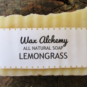 Lemongrass All Natural Soap / Two 5 oz Bars