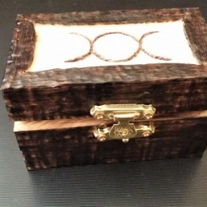 Mini Altar in wooden box