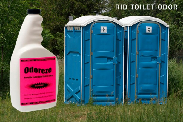 Odoreze Natural Portable Toilet Odor Eliminator Makes 64 Aftcra