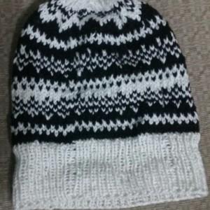 Fair Isle Knit Adult Hat