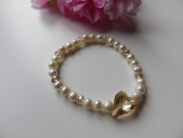 Golden Wild Heart Bracelet