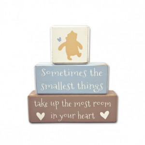 Winnie the Pooh baby shower - centerpiece - baby shower decoration - classic pooh quote