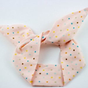 SALE ** Pink Multicolored Polkadot Wired Headband, Free Shipping, Rockabilly Style, Rockabilly inspired, 50's and 60's style, Handmade