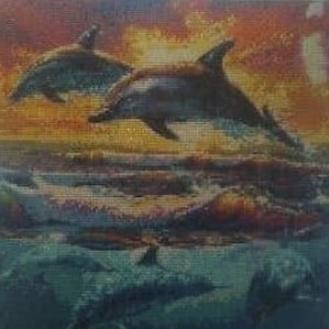 """ Happy Dolphins"" Wall Art"