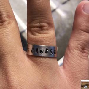 Stamped Ring