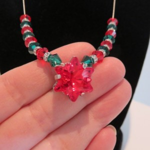Christmas Snowflake Necklace