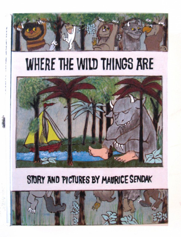 Where The Wild Things Are Hideaway Book Box Aftcra