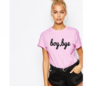 boy, bye Unisex T shirt