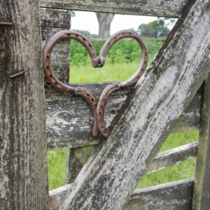Rustic Horseshoe Heart, Country rustic wedding decor,country Heart decor Horseshoe Hearts, Horseshoe homedecor,  Handcrafted Heart wedding