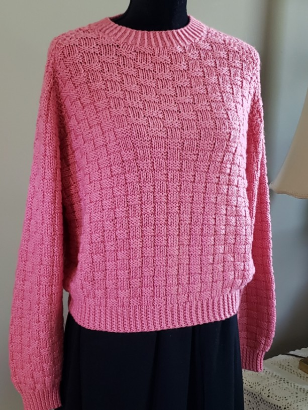 Woman's Long Sleeve, Pullover Sweater