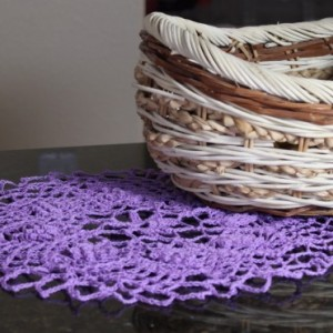 Kingfisher's Nest Crocheted Doily