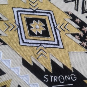 Stay Strong Hand Embroidery Hoop- Wall Art (6 inch) *Only One Available!*