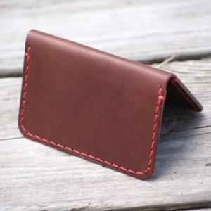 Leather Wallet, Leather Card Wallet, Leather Card Holder, Minimalistic Wallet, Handmade Leather Wallet, Slim Bifold Wallet