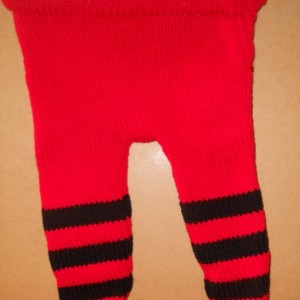 Red & Black Monster Pants