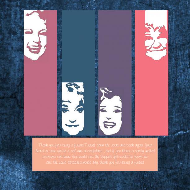 Golden Girls Laminated Bookmarks