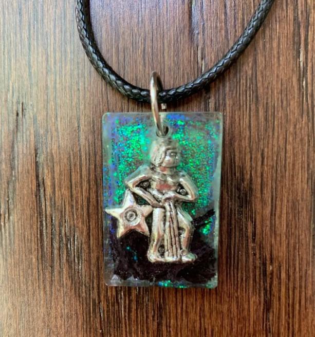 Aquarius Zodiac Necklace, Aquaruis Zodiac Jewelry, Horoscope Necklace, Astro Jewelry, Aquarius Pendant, Aquarius Astrology, Astro Necklace