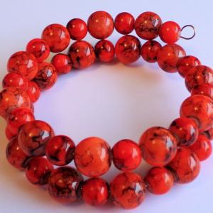Dark Orange Bracelet