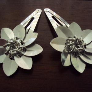 Flower Barettes