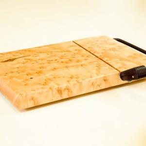 Birdseye Maple Cheese Slicer, Cheese Board
