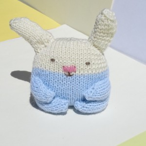 Hand Knitted Bunny, Stuffed Animal, Rabbit, Easter Bunny, Knitted Bunny, Wool Toy