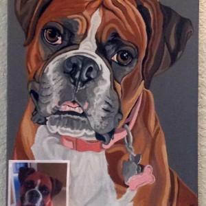 """Carley - Custom Dog Portrait - 11"""" x 14"""""""