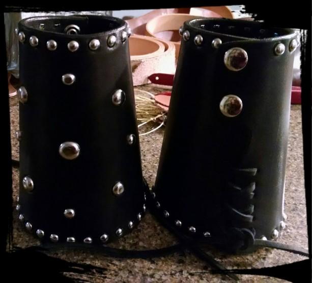 Men's Leather Cuff Bracelet