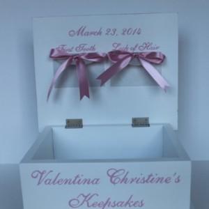 Fairies baby keepsake Memory Box personalized baby gift