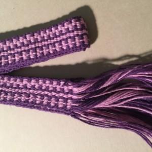 Inkle Loom woven decorative trim 100% Cotton, item #SC8153
