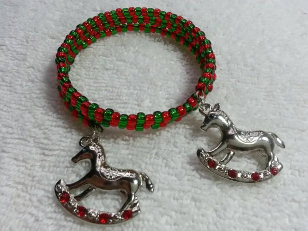 Christmas Charm Memory Bracelet