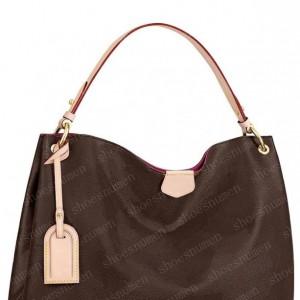 Handbag Tote Bag Totes Shoulder Bags Womens Backpack Women Purses Brown Leather