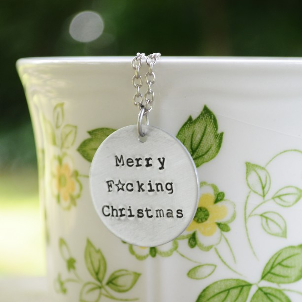 Merry F*cking Christmas Necklace