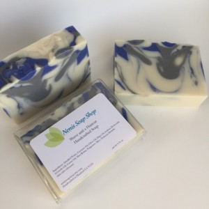 Shave and a Haircut, cold process soap  vegan handmade soap soap for him man soap