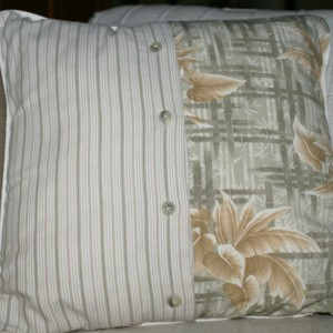 Beige Bamboo Pillow