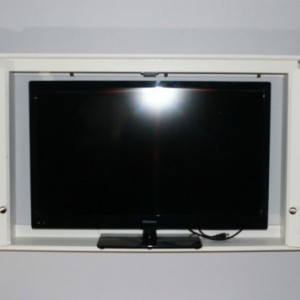 "50"" LCD TV Wall mounted painted TV Cabinet"