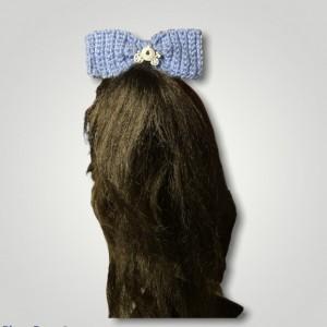 Pretty Blue Hair Bow