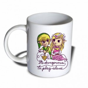 Its dangerous to play alone Legend of Zelda Mug 11 oz Ceramic Mug Coffee Mug