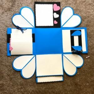 HandMade Explosion Gift Box/ Box Photos Album.