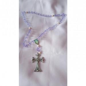 Rosary Beads -Vanilla Orchid