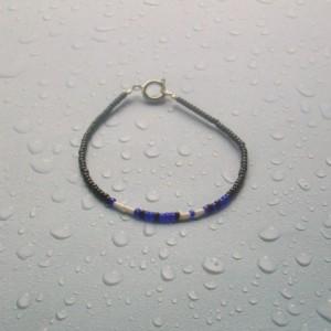 Zodiac - Pisces Morse Code Bracelet